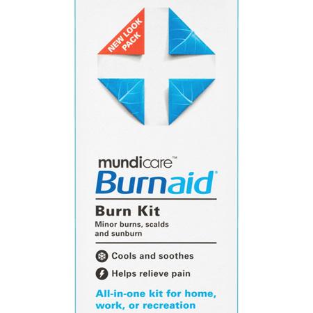 Mundicare Burnaid Burn Kit