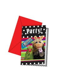 Muppets Party Invites