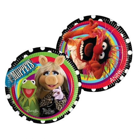 Muppets Party Plates