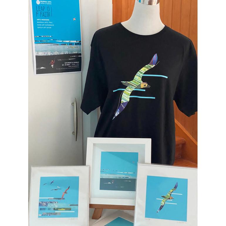 Muriwai Arts Open Studios tshirts