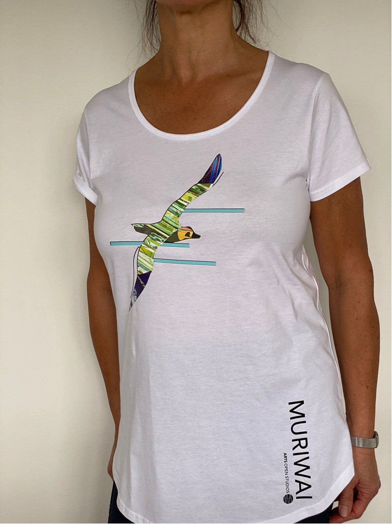 muriwai arts tshirts