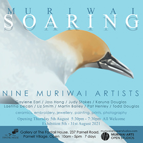 Muriwai Soaring exhibition August 2021