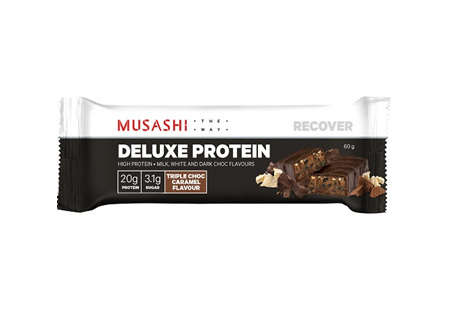 Musashi Deluxe Protein Bar Triple Chocolate 60g