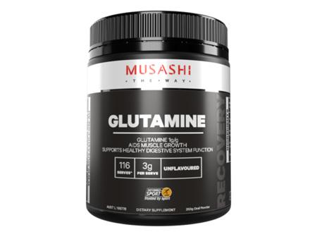 Musashi Glutamine Unflavoured 350g