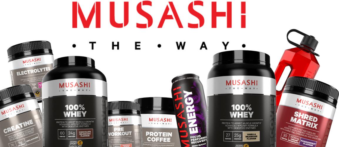 NEW / MUSASHI