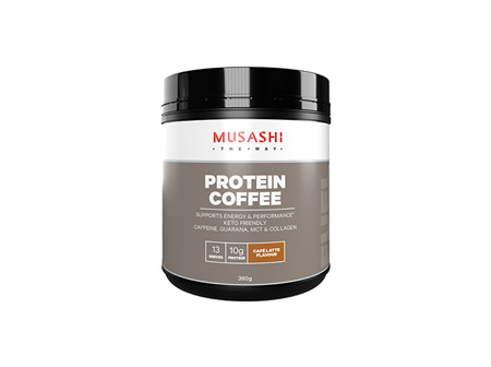 Musashi Protein Coffee Cafe Latte 390g