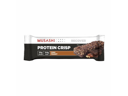 Musashi Protein Crisp Bar Chocolate Peanut 60g