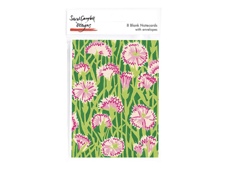 Museum & Galleries Carnations Cards 8 Pack