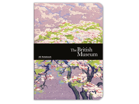 Museums & Galleries A5 Luxury Notebook Blossom Tree