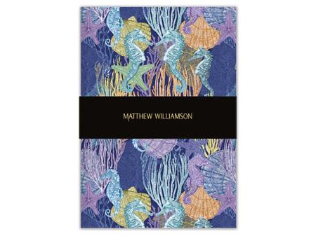Museums & Galleries A5 Luxury Notebook Marmara By Matthew Williamson