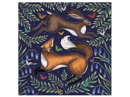 Museums & Galleries Card Fox & Hare