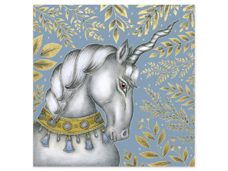 Museums & Galleries Card Unicorn