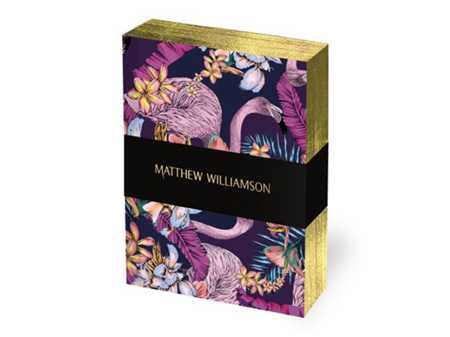 Museums & Galleries Deluxe Mini Notebook Set of 3 Exotic Birds by Matthew Williamson