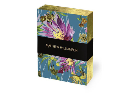 Museums & Galleries Deluxe Mini Notebook Set of 3 Floral Blooms by Matthew Williamson