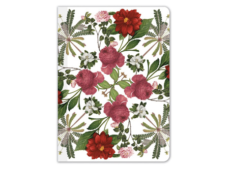 Museums & Galleries Florals Mini Notebook