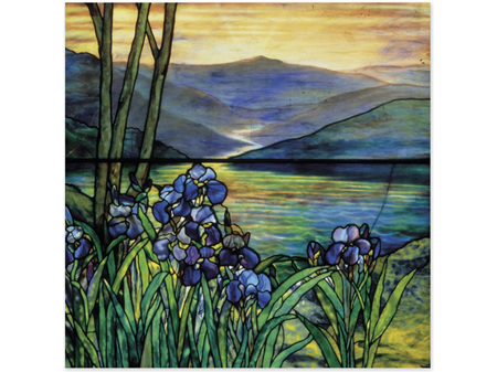 Museums & Galleries Irises by the Lake Card