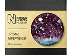 Museums & Galleries Paperweight Amethyst Specimen Pattern
