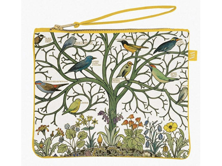 Museums & Galleries Pouch Bag Birds of Many Climes