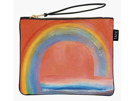 Museums & Galleries Pouch Bag Tate Modern Rainbow Painting