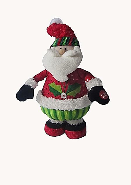 Musical Jumping Santa