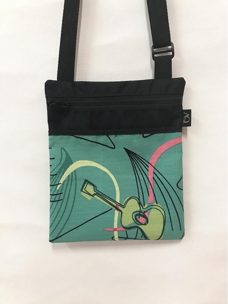Musicians will love this Dory handbag .  A cute designer fabric.