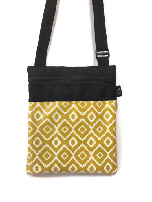Mustard handbag made in NZ