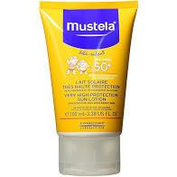 Mustela High Protct Sun Ltn Spf50+ 100Ml