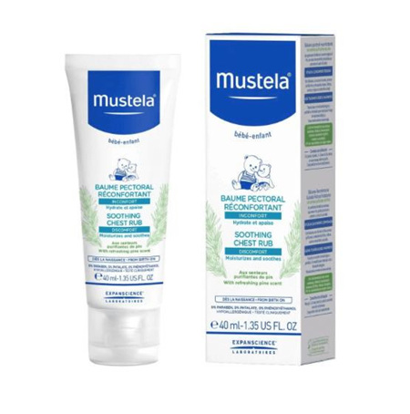 MUSTELA SOOTHING CHEST RUB  40ML