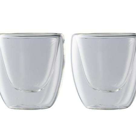 MW Blend DBL Walled Espresso Cup S/2 80ml