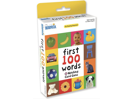 My 1st 100 Words Matching Cards