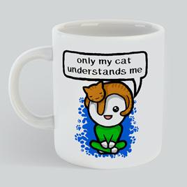 My Cat understands Mug