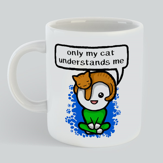 My Cat understands Mug