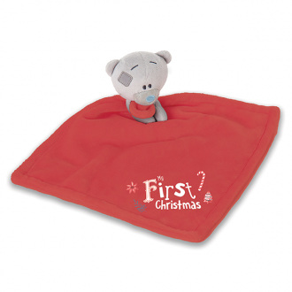 My First Christmas - Tiny Tatty Teddy comforter