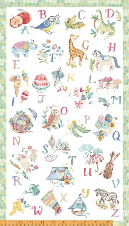 My Imagination Alphabet Panel Multi