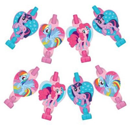 My Little Pony Blowouts x 8