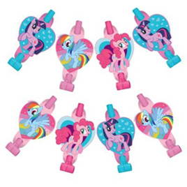 My Little Pony Blowouts x 8