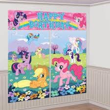 My Little Pony happy Birthday Wall Decorating Kit