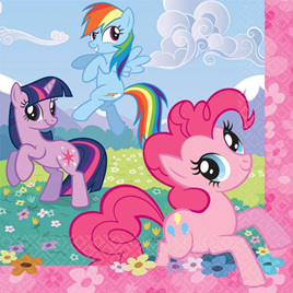 My Little Pony Lunch Napkins x 16
