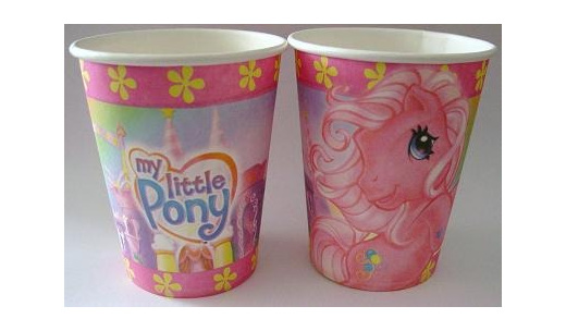 My Little Pony Themed Party Cups