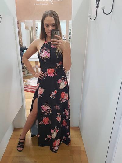 My Secret Garden Maxi Dress