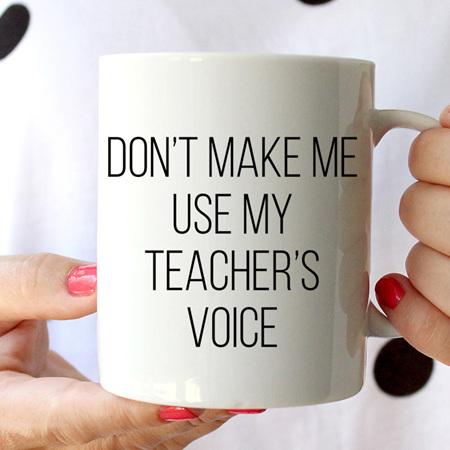 My Teacher's Voice Mug