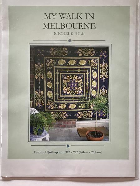My Walk in Melbourne Quilt Pattern