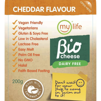 Mylife Biocheese Cheddar Block