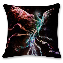 MYSTICAL PHOENIX CUSHION COVER