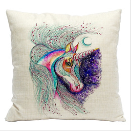MYSTICAL UNICORN CUSHION COVER