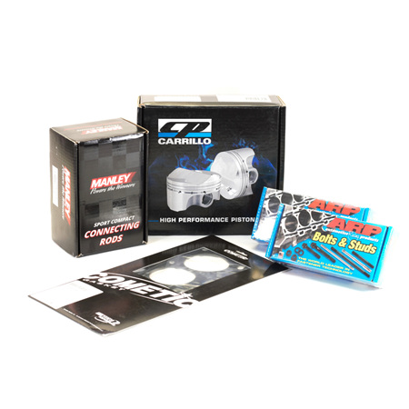 MZR 2.3l DISI Turbo Engine Rebuild Package - CP Pistons & Manley Rods