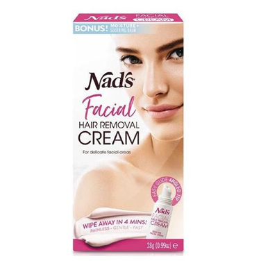 NADS FACIAL HAIR REMOVAL CREAM 28G