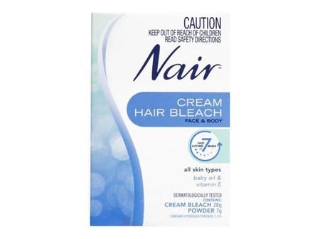 Nair Cream Hair Bleach 28g