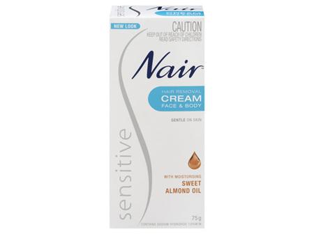 Nair Sensitive Hair Removal Cream 75g