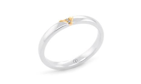 Naked Barcelona Delicate Ladies Wedding Ring